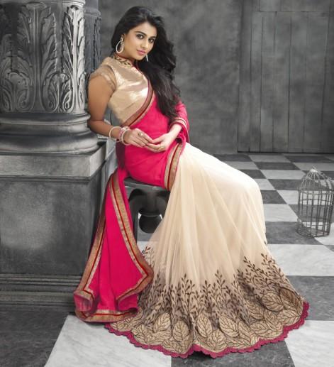 buy-wedding-designer-pink-and-cream-georgette-saree-online-latest-wedding-designer-pink-and-cream-ge-14686940988k4ng-932x1024